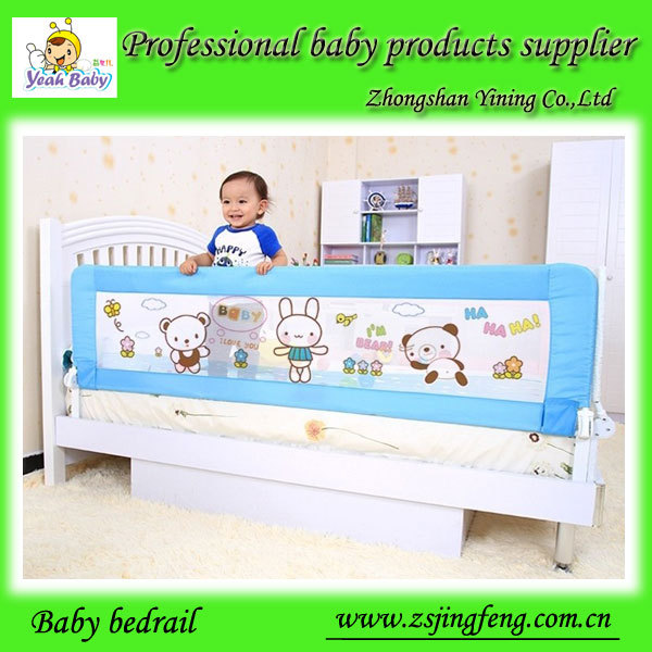 YB120H64A Collapsible Baby Bed Side Rails For Baby Protection While Sleeping-in Gates & Doorways