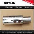 Привет мощность Универсальный 304 Нержавеющая сталь выхлопная труба гоночный глушитель наконечник выхлопная труба автомобиля