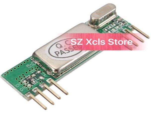 1 pces rxb6 433 mhz superheterodyne módulo receptor sem fio
