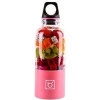 Juice Blender/Fruit Juicer bottle Portable Electric USB Charging 500mL