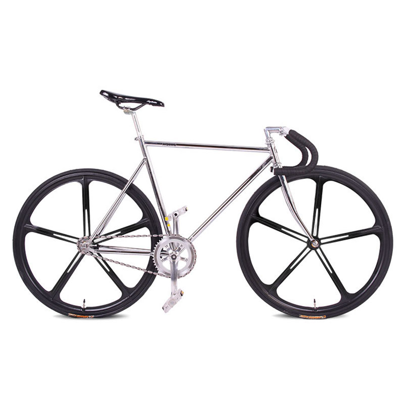 Fixie Fahrrad Fixed gear bike 700C * 23C 52 cm RAHMEN vintage ...