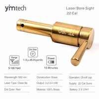 Mini czerwony Laser Bore Sighter, kaseta laserowa taktyczna czerwona kropka Boresighter Hunter Tool, wysokiej jakości. 22 Cal karabin Bore Sight
