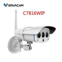 WANSCAM Wi-Fi камера видеонаблюдения Открытый IP камеры безопасности Водонепроницаемый IP67 20 м ИК-диапазоне поддержка 128 г SD карты, sn: C7816WIP