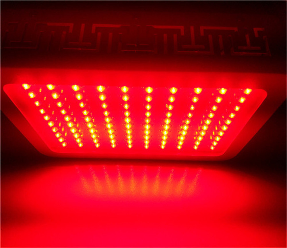 Agricultural led grow lights 100x3w red630nm for indoor hydroponics greenhouse grow tent box 90w led round grow lights light ratio 5 2 1 1 with the mixture of red blue orange white lights for indoor grow box