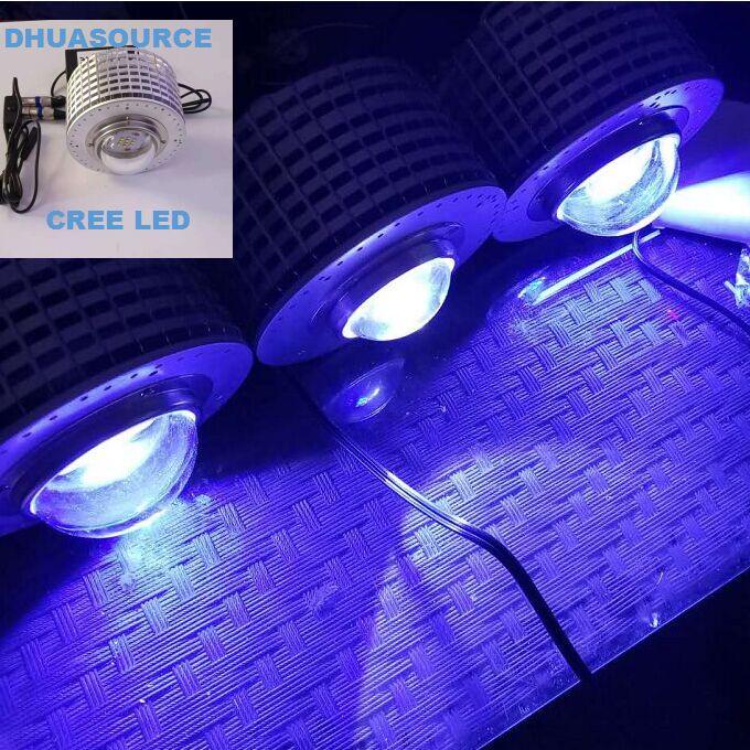 Les plantes d'éclairage d'aquarium de LED de CREE élèvent la lumière pour le réservoir aquatique de plante de poissons CREE LED 50 W