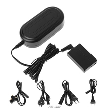 ACK E12 AC Power Supply Charger Adapter+DR E12 DC Coupler For Canon EOS M M2