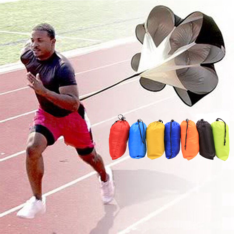 Running Speed Training Adjustable  Resistance Training Parachute Running Chute Soccer Football Power Training Umbrella A