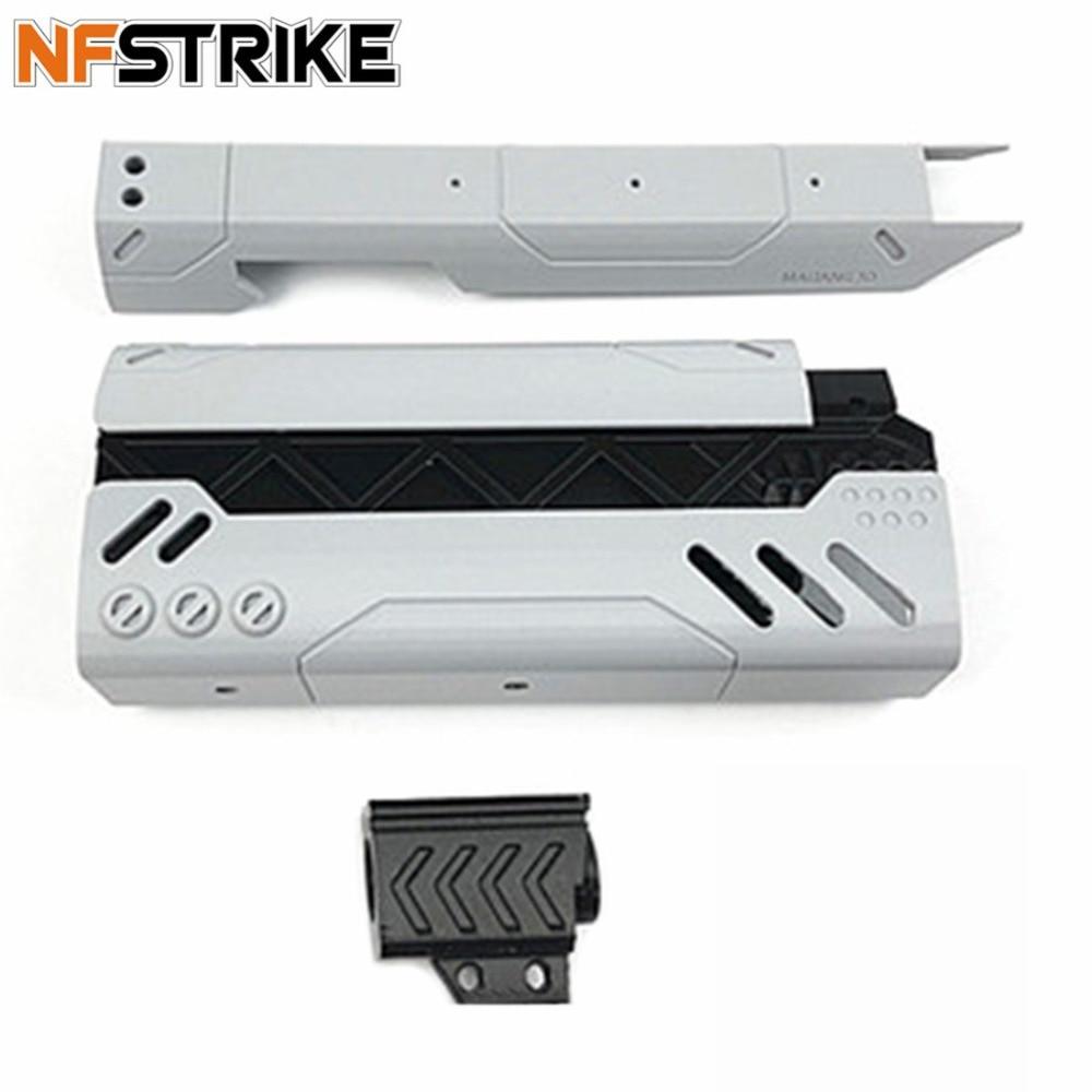 купить NFSTRIKE 3D Printing 200mm MOD2 Appearence PLA Modification Kit For Nerf Zombie Strike SlingFire Blaster Modified Accessories по цене 3008.89 рублей