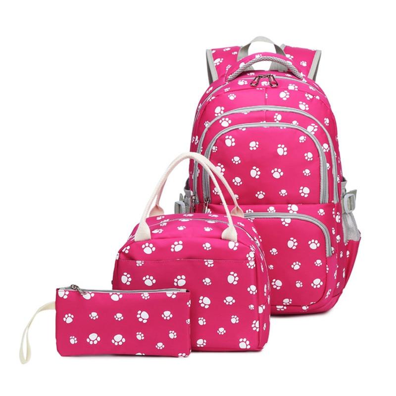School Backpacks For Girls Children Backpack School Bags Mochila Escolar Kids Backpacks Fashion Printing Book Bag Satchel