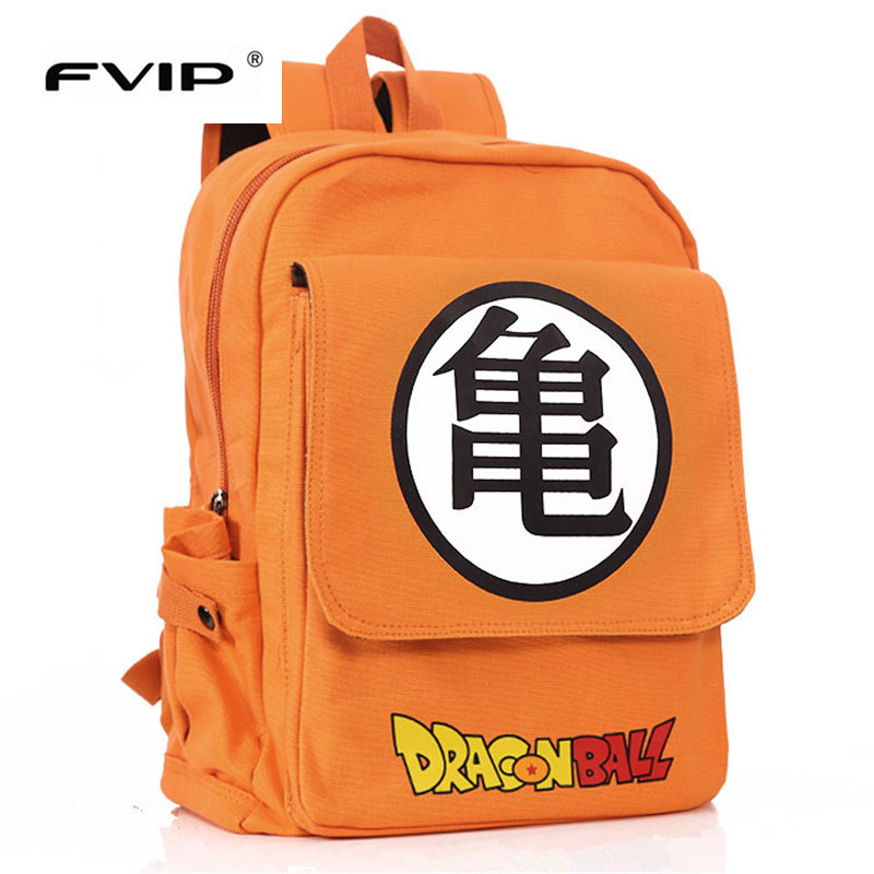 FVIP Anime Dragon Ball /Zelda Backpack Boys Girls School Bags for Teenagers Kids Travel Bag Schoolbags Mochila Daily Backpack