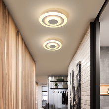 Acrylic Modern led ceiling lights for bedroom hobby balcony living room white or brown color home deco ceiling lamp fixtures black or white modern led ceiling lights simple deco fixtures study dining room balcony bedroom living room ceiling lamp