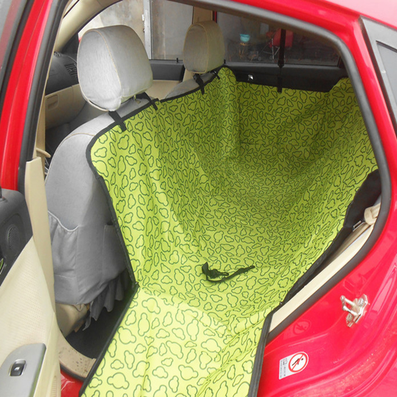 Pet carriers Oxford Fabric Car Pet Seat Cover Dog Car Back Seat Carrier Waterproof Pet Hammock Cushion Protector Dropshipping title=