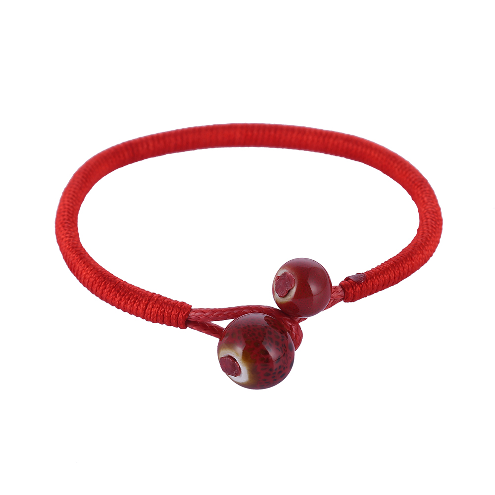 2pcs Set Lucky Ceramic Red String Bracelets 1263 In Charm From Jewelry Accessories On Aliexpress Alibaba Group