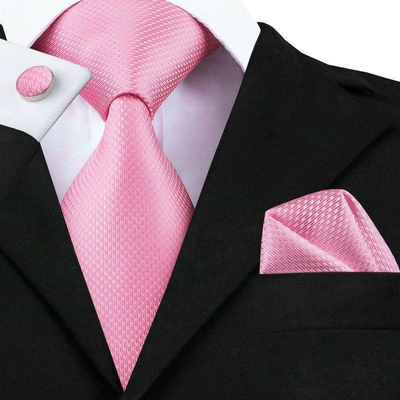 C-557 2018 Pink White Mens Tie...