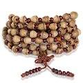 Nova chegada de Moda de Luxo pulseira de sementes bodhi Handmade 108 Buddha Contas Pulseiras sabores Naturais Bodhi pequeno Almirantado
