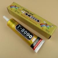 New T8000 Glue 50ml Clear Glue Epoxy Resin for Glass Flower Pot Crystal  Fabric DIY Rhinestones Adhesive T-8000