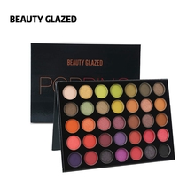Beauty Glazed Cosmetics Professional Eyeshadows Pallette Natural Nude Long Lasting Glitter Eye Shadow Pigmented Palette Makeup