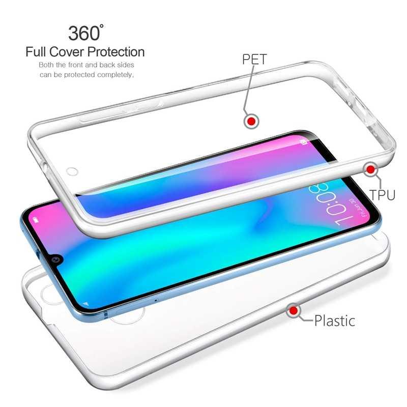 360 Derajat Bening Case untuk LG G3 G4 G5 F700 G6 K10 F670 K10 2017 K4 K5 K7 K8 K350 full Body Cover