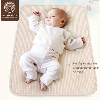 Детский Цветной хлопковый подгузник матрас мочи коврик водопоглощающая менструальная чаша >> Adorbaby's Store