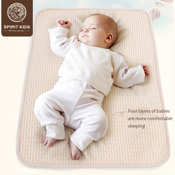 Baby color cotton nappy  mattress urine pad water absorption Menstrual pad