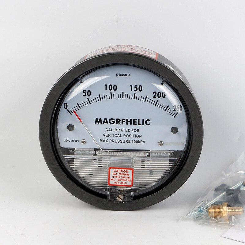 TE2000 0-250pa Micro Differential Pressure Gauge High