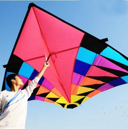 무료 배송 고품질 델타 카이트 비행 장난감 립스틱 - 야외 재미와 스포츠