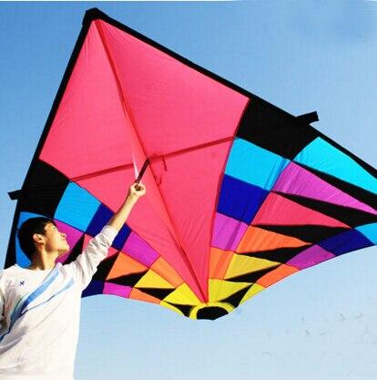 Livraison gratuite de haute qualité grand cerf-volant delta jouets volants ripstop nylon sport cerf-volant bobine dragon cerf-volant parachute pieuvre