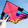 O envio gratuito de alta qualidade grande delta pipa voando brinquedos parachute ripstop nylon esporte carretel de pipa pipa dragão cerf volant polvo