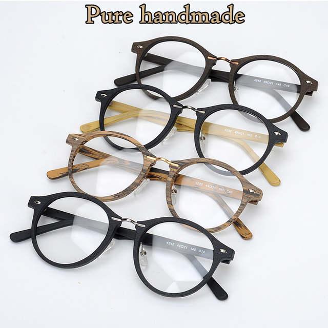 c52524ddb3a Online Shop 2017 TAG Hezekiah Brand New fashion frame glasses Wood high  quality designer frames for eyeglasses male female oculos de grau