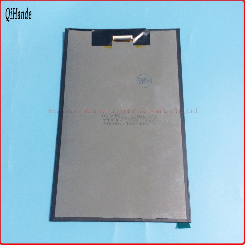 8 inch LCD screen 100 New display for AL1138E Tablet PC LCD screen SL008PC24D1166 A00 SL008PC21D1138