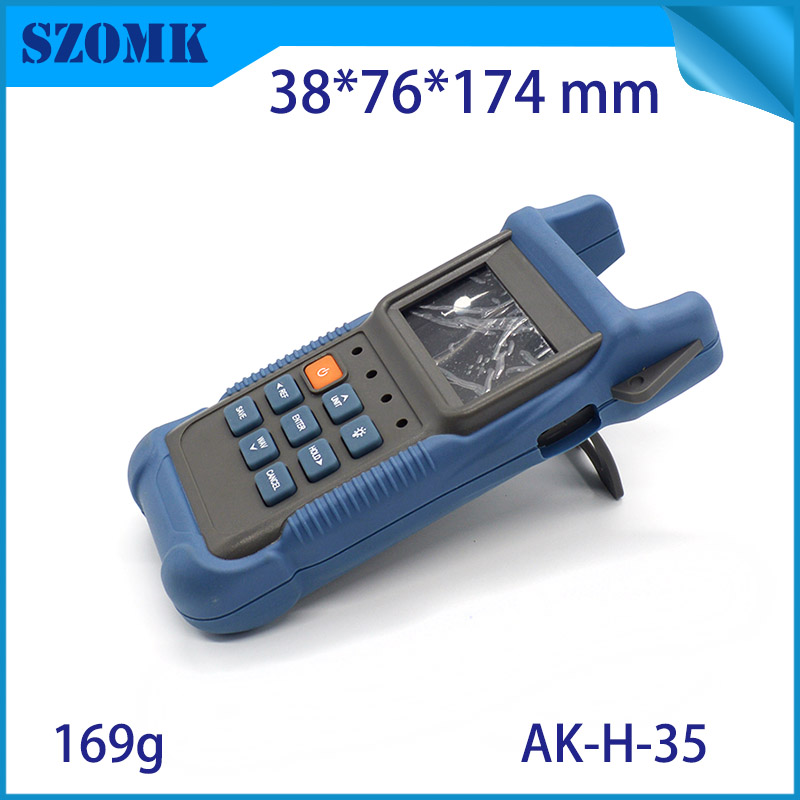 1 piece SZOMK new product  handheld control housing case new instrument plastic handheld case with battery box for PCB broad peter nash effective product control controlling for trading desks