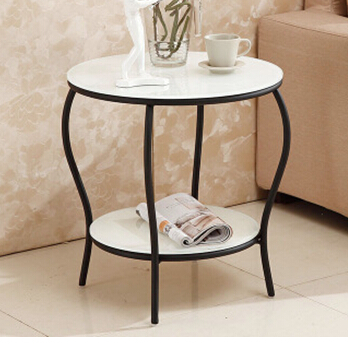 Hardware double glazing Rounded corners Toughened small tea table Coffee Tables