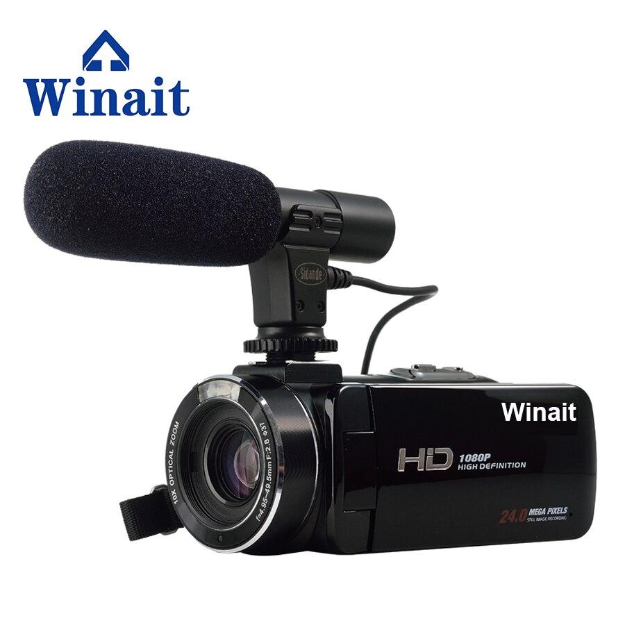 Free Shipping Winait 1080P Full HD font b Digital b font Video font b Camera b
