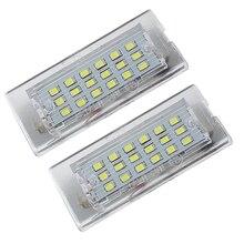 Для BMW E53/X5 до реконструкции светодио дный автомобилей CANBUS Нет Ошибка Подсветка регистрационного номера лампы Авто количество лампы без Hyper @ 12 В SAARMAT