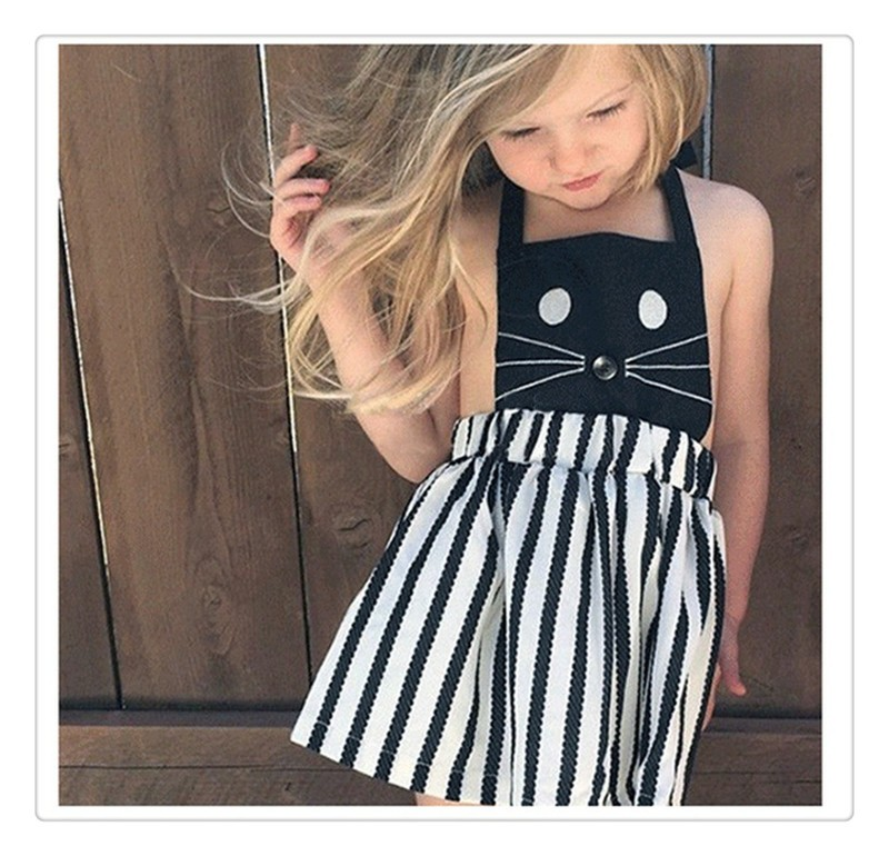 2016 Summer Sleeveless Girls Clothes Dress (13)