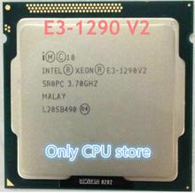 Cache de 8M, E3 1290V2 GHz, 22 nm 87 W Quad Core, gratté, E3 1290 1290 V2 E3 processeur dunité centrale V2 3.7G, 3.70 GHz, livraison gratuite