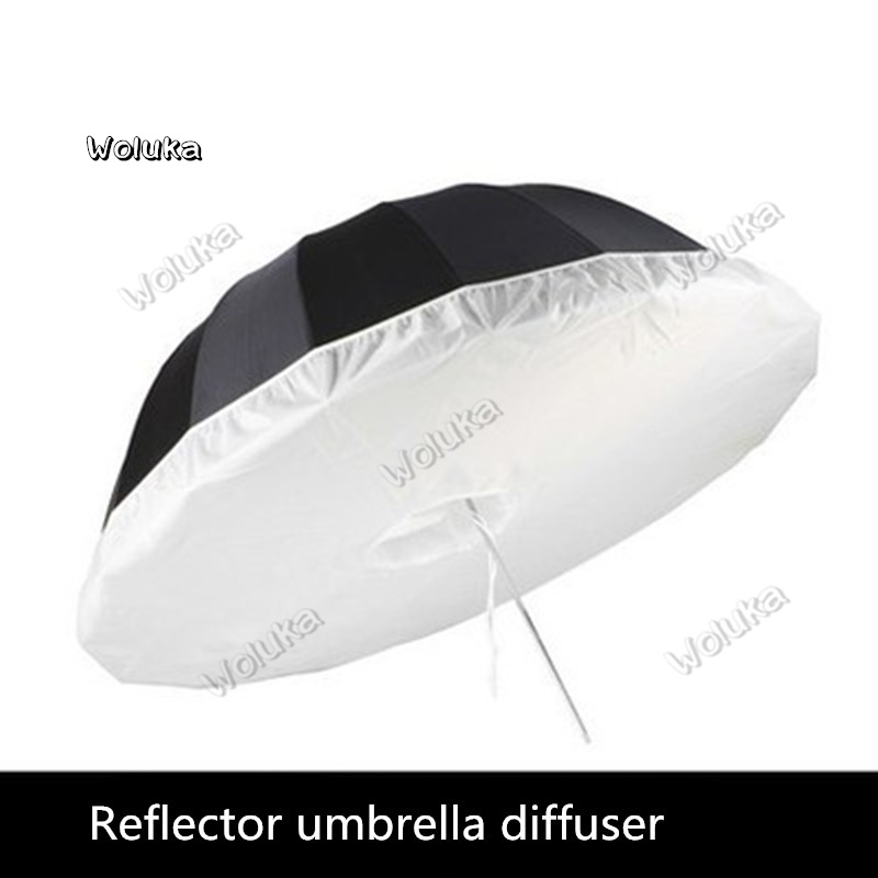 16 Angle Reflective Umbrella Soft Light Cover Diffuser Deep Soft Umbrella Black Cover Black Umbrella Cloth NO00DG T03