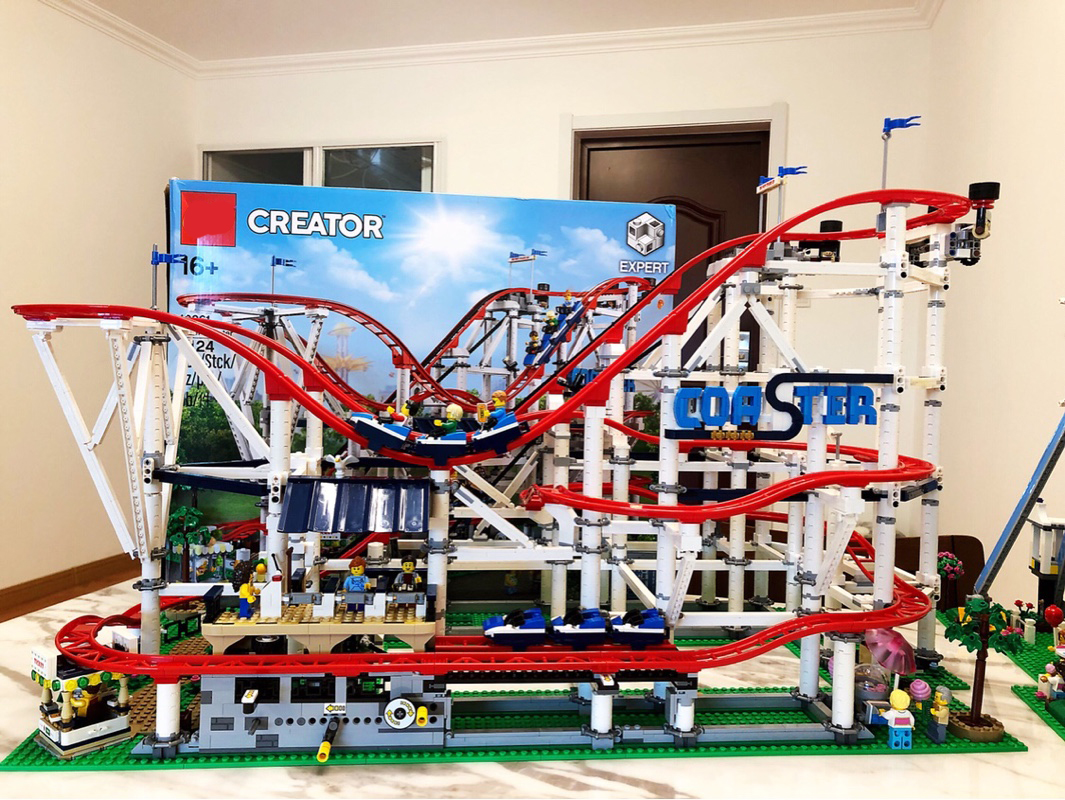 Roller Coaster 15039 Building Kit StreetView Creator Building Blocks Toys for Children Compatible with Legoings 10261 robotbase rb 13k022 electronic start building blocks kit works with official arduino boards
