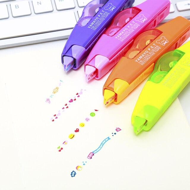 YAMAYO Радуга Цветок украшения с DIY творческая логотип открытка шаблон коррекция ленты кружева модификация