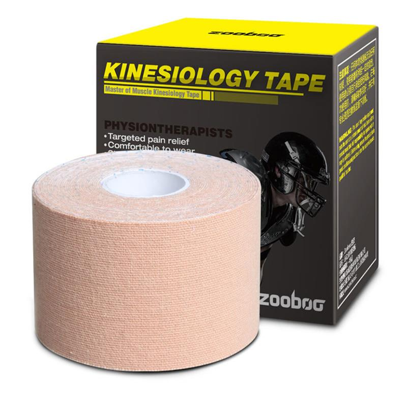 RUNACC Zooboo Kinesiology Tape Therapeutic Elastic Muscle Support Adhesive Strip 16.4'X 2'' new travel backpack feminine korean women fashion backpack leisure student schoolbag black soft pu leather women bag 14ba31 9 2