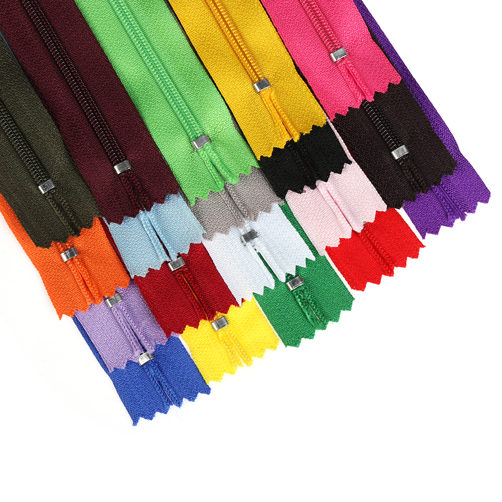 Colorful Trousers DIY Accessories Garment Sewing Nylon Zippers Tailor Handcraft