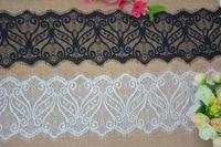 15 Cm Wide White Color Eyelash Bridal Wedding Lace Trim For Wedding Dress Wedding Planning Decoration