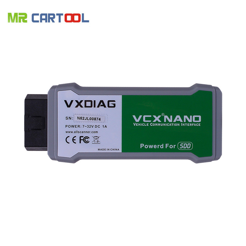 Newest VXDIAG VCX NANO for Land Rover and Jaguar 2 In 1 With Software V145 Free Shipping j greer nano and giga challenges in microelectronics