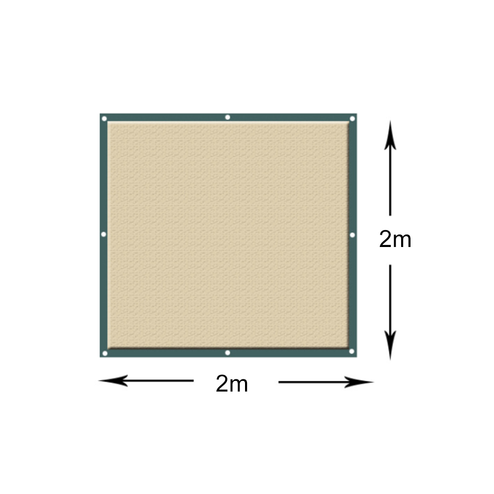 Outdoor Sun Shelter Net 6 Needle Thickened Covered  (5)