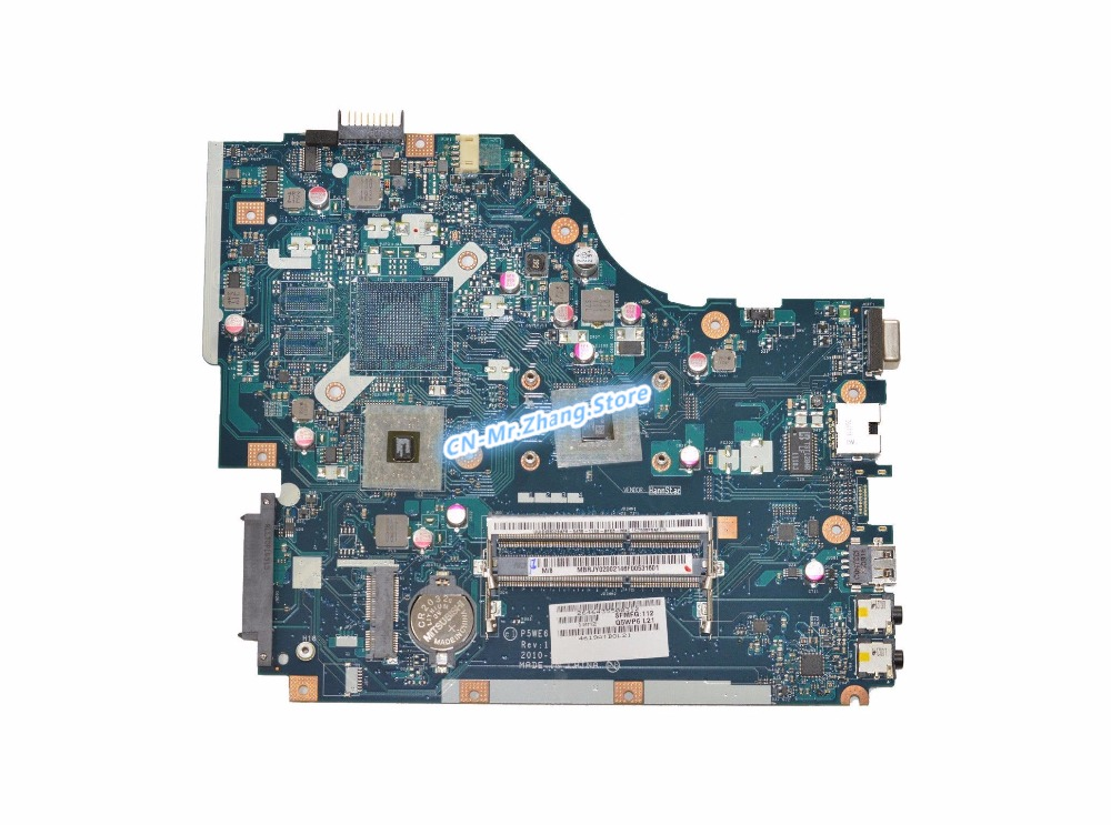 SHELI FOR Acer Aspire 5253 5250 Laptop Motherboard W/ <font><b>E300</b></font> CPU MBRJY02002 MB.RJY02.002 LA-7092P DDR3 image