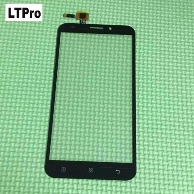 LTPro High Quality White Black Front Glass Sensor Panel Touch Screen Digitizer For Lenovo A916 Phone Replacement Parts