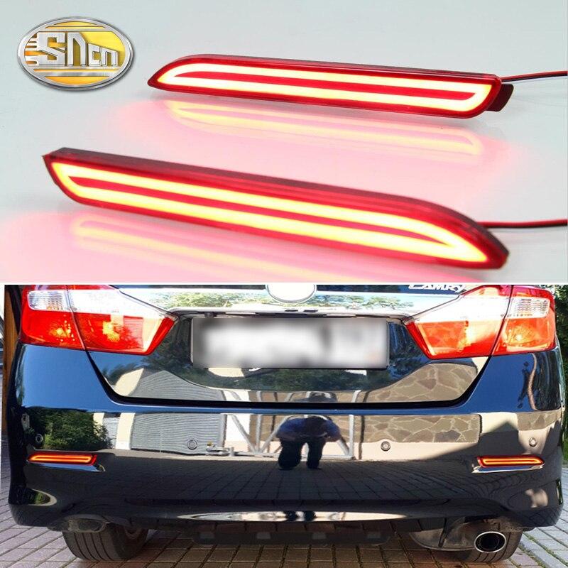 2PCS LED Rear Fog Lamp For Toyota Sienna 2013 2014 2015