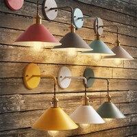 Modern Lâmpada de Parede Do Corredor de Cabeceira Leitura Luz Parede Colorida E27 Corredor Sala de estar iluminação Luminárias de parede de metal Luminárias de parede     -