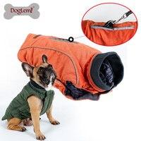 DogLemi Pet Winter Padded Coat Retro Design Cozy Winter Dog Pet Jacket Vest Warm Pet Outfit