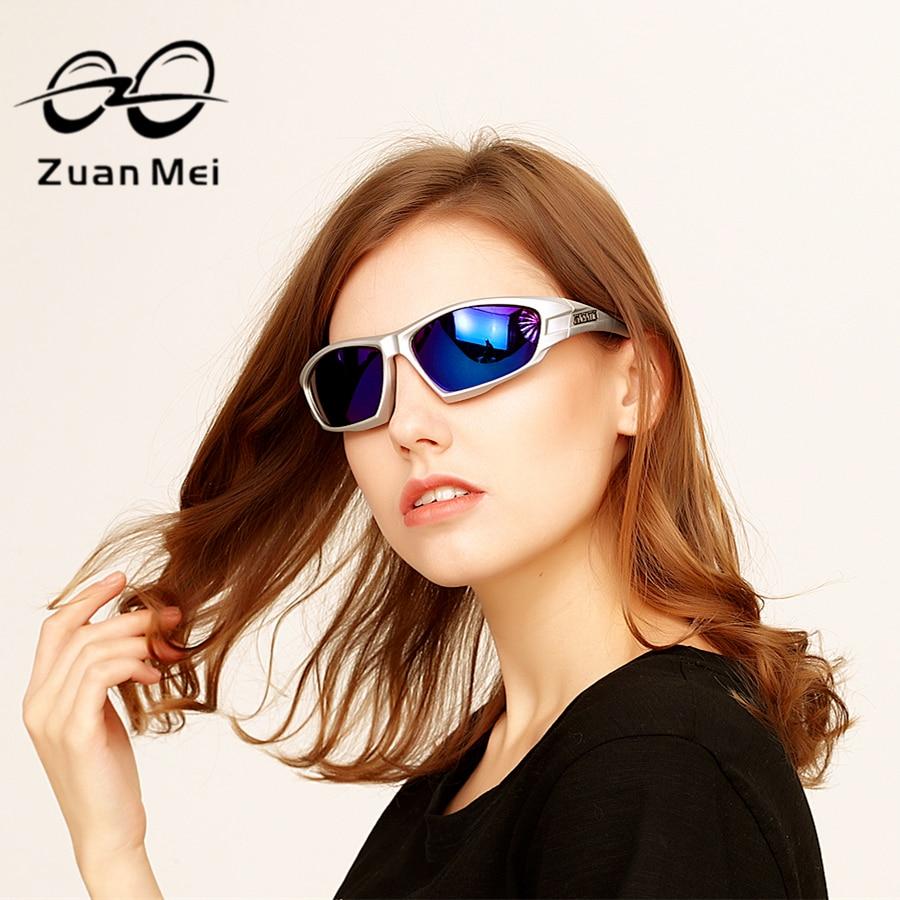 6b81de08cb62e Zuan Mei Óculos Polarizados Homens Espelho Óculos de Sol Para As Mulheres  Marca de Designer de Verão Senhoras E UV 400 Óculos Polarizados Masculinos